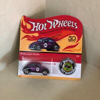Hot Wheels Mattel Volkswagen Beetle #2/5 Matching Collector's Button X10