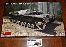 WWII german Panzer Tank Stug.III Sturmgeschütz O-Series 1:35 MiniArt 35210 Neu