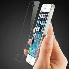 2x TEMPERED GLASS FILM SCREEN PROTECTOR FOR APPLE IPHONE 5 5c 5s SE LCD FREE NEW