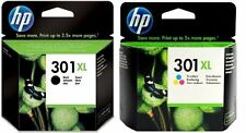 HP 301XL Combo Ink Cartridge Combo Pack  Black & colour CH563EE CH564EE 301 XL