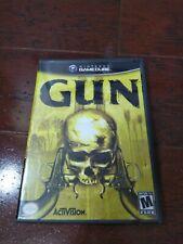 Gun (Nintendo GameCube, 2005) Complete With Manual CIB