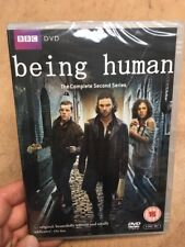 Being Human:Complete Series 2-Aidan Turner Russell Tovey(3xDVD R2)New+Sealed BBC