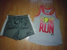 JUSTICE SOFTBALL 2 PIECE GIRLS OUTFIT SIZE 7-8