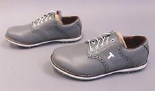 TRUE Linkswear Men's TRUE Classix X'Over Golf Shoes GG8 Charcoal Size 7 $169.99