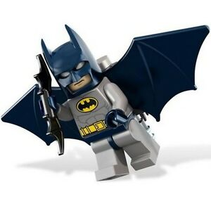 Lego - Batman - DC superheroes - with jetpack, batwings, batarang