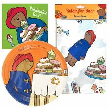 Paddington Bear Party Tableware pack for 8 - Plates, Napkins & Table Cover