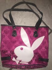 Vintage Playboy Pink Bag Handbag large simulated leather