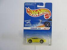 1995 Hot Wheels Ferrari 355 10/12 7 SPK gold wheel Canadian version