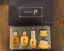 The history of Whoo Gongjinhyang 5Pcs Special Gift Kit + 1 sample US Seller