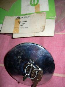 Chrome Petrol Fuel Locking Cap by Willmot Breedon - Mopar 75046383