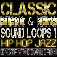 PIANO,KEYS,RHODES,SOUNDS WAV LOOP SAMPLES 1 Hip Hop Jazz Akai Reason Fl Studio