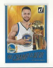 2017-18 Donruss The Champ is Here #5 Stephen Curry Warriors