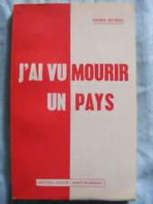 Pierre Beyries J'ai vu mourir un pays Editions Lacoste à Mont-de-Marsan 1971