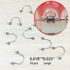 10 pcs .019 * .025 Large Orthodontic Anterior teet Torquing Spring fit arch wire