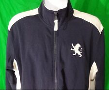Express XL Sweatshirt Zipper Blue White Lion Crest Excellent Condition Size Mens