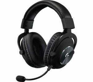 LOGITECH G PRO X 7.1 Gaming Headset - Black - Currys