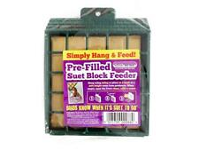 Suet To Go Pre-Filled Suet Block Feeder - Insect