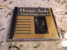 Legends of Reggae, Vol. 6 by Horace Andy (CD, 2000, Navarre) PROMO NEW SEALED