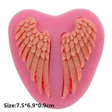 Silicone Cake Fondant Cookie Kuchen Schokolade Mold Decorating Angel Wings