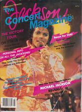 Michael Jackson MEGASTARS MAGAZINE Victory Tour American USA Magazine 1984