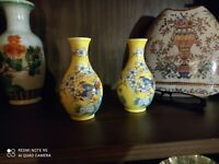 A Pair Of Fine Chinese Porcelain Vase - Small size - 50 years old - Home decor