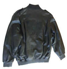 Men's Black Label Lamb skin Leather Coat