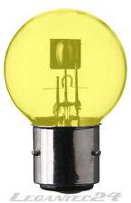Glühlampe 6V 45/40W Ba21d gelb Glühbirne Lampe Birne 6Volt 45/40Watt neu