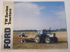 1986 Ford TW Series Tractor Brochure TW-5 TW-15 TW-25 TW-35 LOTS More Listed