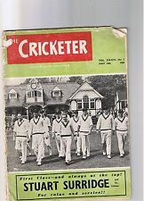 THE CRICKETER MAGAZINE - MAY 14TH 1955 VOL XXXVI  N0. 2