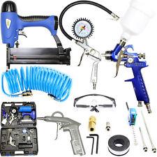 Güde Druckluft Geräte Set 15-teilig Nagler Klammergerät Reifen Füller Kompressor