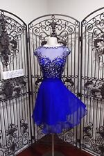 G2011 HANNAH S 27888 ROYAL SZ 14 $229  COCKTAIL PROM HOMECOMING GOWN  DRESS