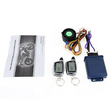 SPY 5000M LCD Motorcycle Alarm System Two Way Remote Start 434MHz Sensor 125dB
