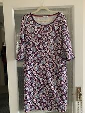 BODEN COMFY DRESS SIZE UK 14 R IN EXCELLENT CONDITION