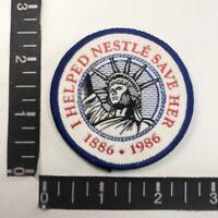 Vintage Denim New York CIty NY Iron On Patch Statue of Liberty Lady Liberty NYC
