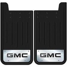 2PC GMC LOGO 12X23 MUD SPLASH GUARDS FLAPS FOR TRUCK SUV