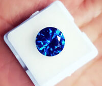 Natural Blue Topaz 4.00 To 6.00 Cts Round Shapes Certified Gemstone