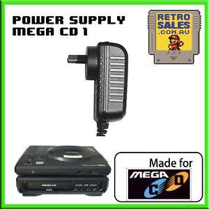 Sega Mega CD 1 Power Supply Adapter Pack Aftermarket AUS Plug MK1602 PSU MegaCD
