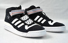 a51a9f90c76f3 Adidas Undefeated All Star Black White Suede Canvas Shoes 12 Mens