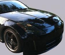 Fits 03-08 Nissan 350z vinyl headlight covers tints smoked pre-cut
