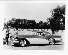 1957 Buick Model 66R Century two door Riviera, Factory Photo (Ref. # 28522)