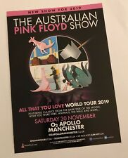 The Australian Pink Floyd Promo Flyer - Pink Floyd Tribute - All that you love