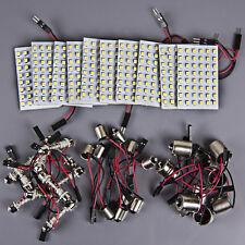 10x RV Trailer 48 SMD White High Power LED Light Panel+1156 BA15S+BA9S+Festoon