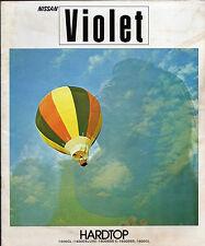 NISSAN VIOLET Hardtop 1973-1974 mercato giapponese JDM SALES BROCHURE 1400 1600