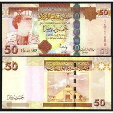 LIBYA  50 Dinars 2009 UNC P 75