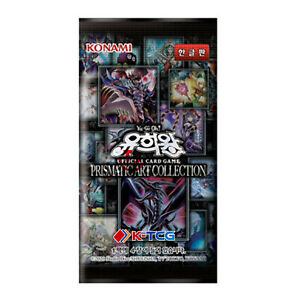 """Korean Yugioh Cards """"Prismatic Art Collection"""" PAC1-KR Booster Pack 1EA"""