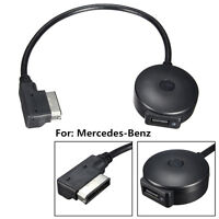 New Wireless Bluetooth Music Adapter MMI AUX Interface Cable For Mercedes-Benz