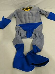 Rubie's Batman Deluxe Muscle Chest Child's Costume Toddler Blue - JUMPSUIT ONLY