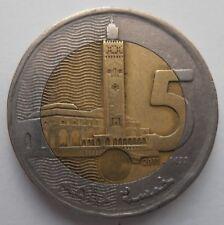 Dírhams Marruecos 5 1432 2011
