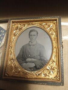 Civil War Tintype Soldier