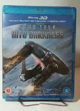 Star Trek Into Darkness (3D+Blu-ray Disc,2013,2-Disc Set) NEW - Free Shipping